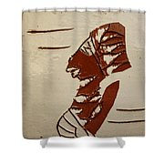 Bride 5 - Tile Shower Curtain