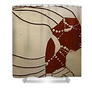 Bride 6 - Tile Shower Curtain