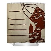 Bride 8 - Tile Shower Curtain