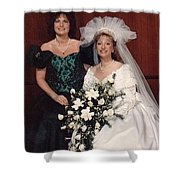 Bride And Honor Shower Curtain