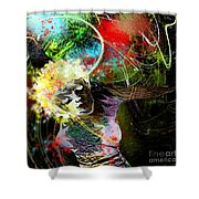 Bride Of Halos Shower Curtain