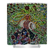 Bride Of Mountains And Meadows Shower Curtain