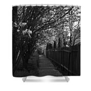 Bride's Aisle II Shower Curtain
