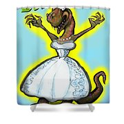 Bridezilla Shower Curtain