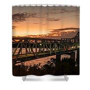 Bridge 8 Shower Curtain
