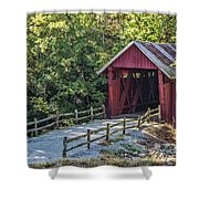 Bridge Across Time Shower Curtain