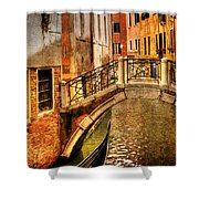 Bridge Ahead Shower Curtain