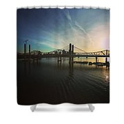 Bridge And Colors Shower Curtain