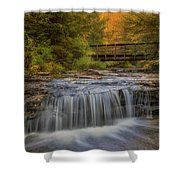 Bridge And Falls Shower Curtain