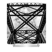 Bridge And Sky Shower Curtain