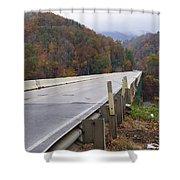 Bridge At Butler Shower Curtain