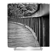 Bridge At Calloway II Shower Curtain