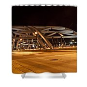 Bridge At Night Shower Curtain