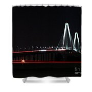 Bridge Blur Shower Curtain