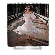 Bridge Dancer Shower Curtain