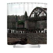 Bridge Deco Shower Curtain