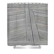 Bridge Floor Shower Curtain