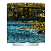 Bridge For Lovers Shower Curtain