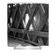 Bridge Glow Shower Curtain