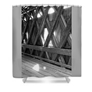 Bridge Glow Shower Curtain