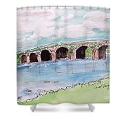 Bridge In Ireland Shower Curtain