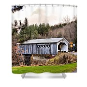 Bridge In Montgomery Shower Curtain