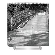 Bridge In The Path II Shower Curtain