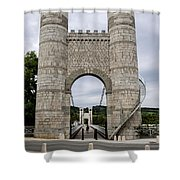 Bridge La Caille - Rhone-alpes Shower Curtain