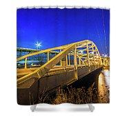Bridge Meridian Sault Ste. Marie, Michigan -6792 Shower Curtain