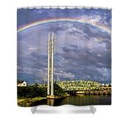 Bridge Of Hope Shower Curtain