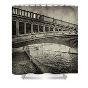 Bridge Of L'archeveche Shower Curtain