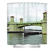 Bridge Of Lions From The Water Shower Curtain