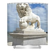 Bridge Of Lions II Shower Curtain