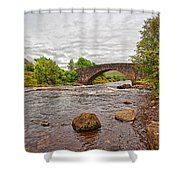 Bridge Of Orchy Argyll Bute Shower Curtain