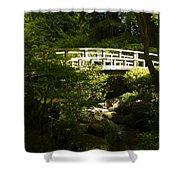 Bridge Of Peace Shower Curtain