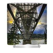 Bridge Of The Gods Shower Curtain