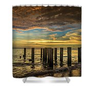 Bridge Of The Past Shower Curtain