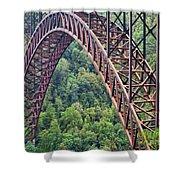 Bridge Of Trees Shower Curtain