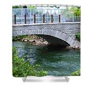 Bridge On The Niagara River Shower Curtain