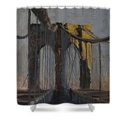 Bridge One Shower Curtain
