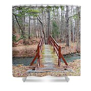 Bridge Over The Brook Shower Curtain