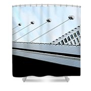 Bridge Over The Danube Shower Curtain