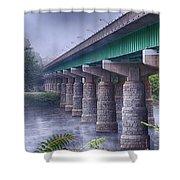 Bridge Over The Delaware River Shower Curtain