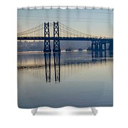 Bridge Over The Mississippi Shower Curtain