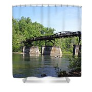 Bridge Over The River Shower Curtain