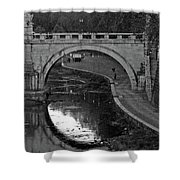 Bridge Over The Tiber Shower Curtain