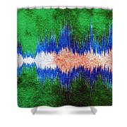 10297 Bridge Over Troubled Waters By Simon And Garfunkel With Title Shower Curtain