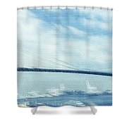 Bridge Over Troubled Waters Shower Curtain