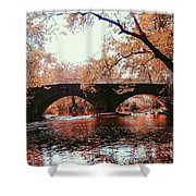 Bridge Over Yellow Breeches Creek Shower Curtain