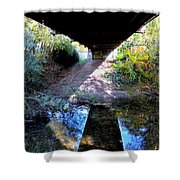 Bridge Puzzle Shower Curtain